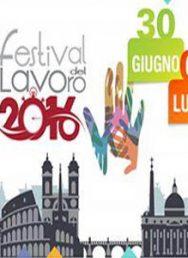 Festival del lavoro: si inzia il 30 giugno